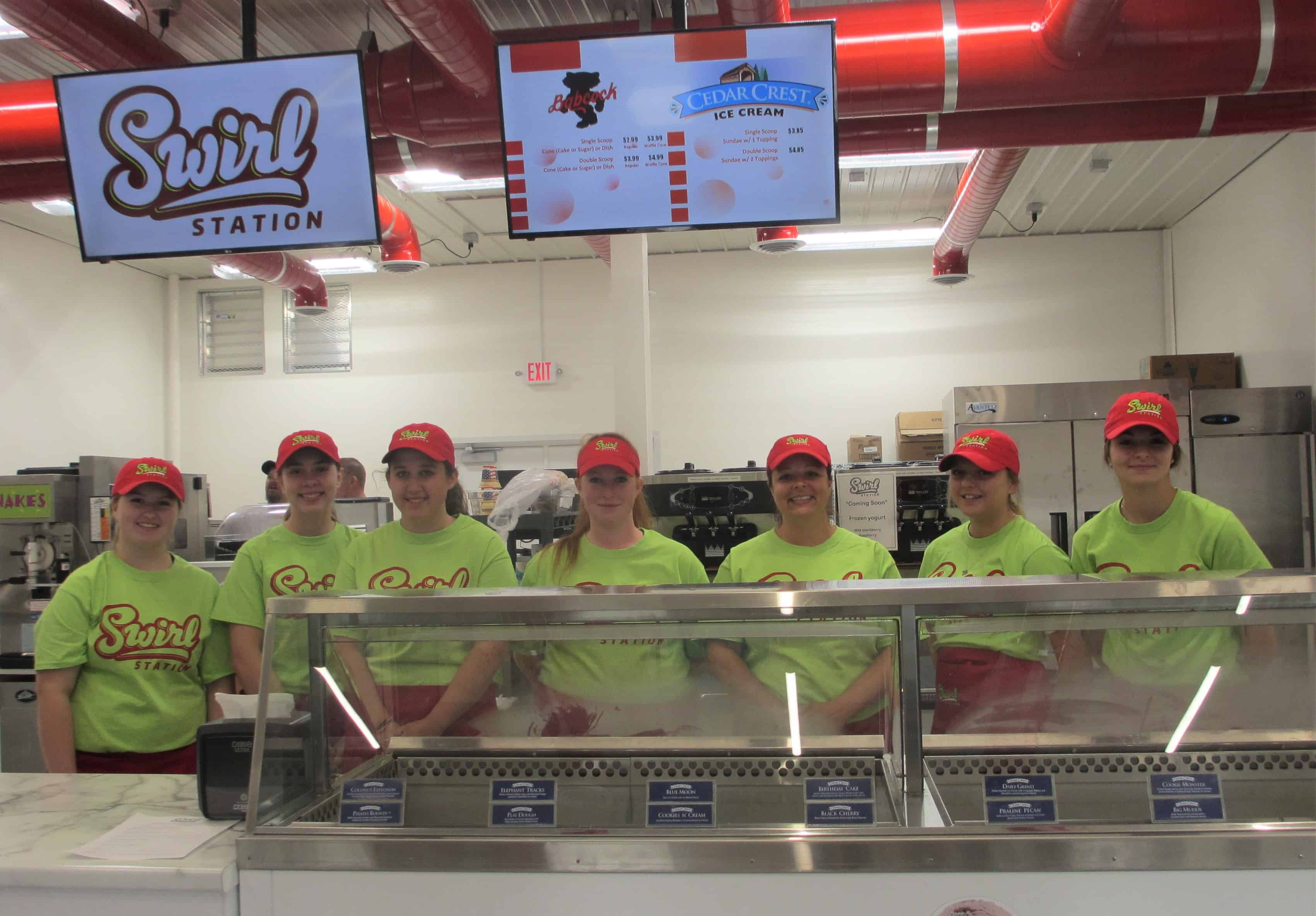 Our whole crew is ready to make your day special.